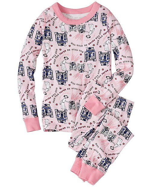 4ad133260 Kids Star Wars™ Long John Pajamas In Organic Cotton from ...