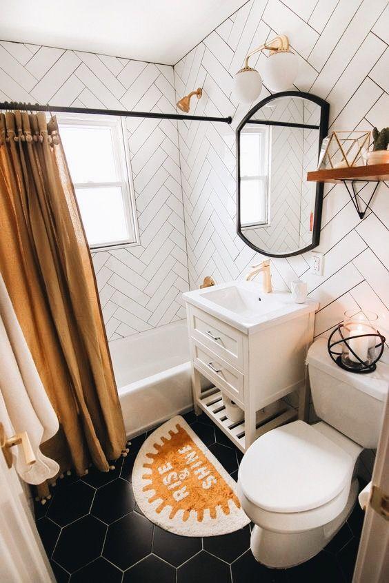 Guest Bathroom Reveal Links To Decor Wohnung Badezimmer