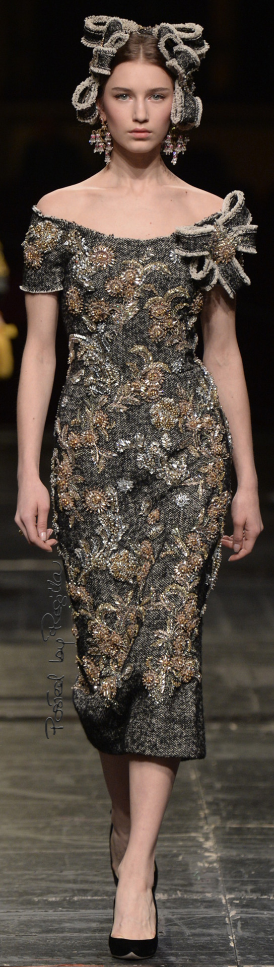 Regilla ⚜ Dolce & Gabbana, Alta Moda 2016