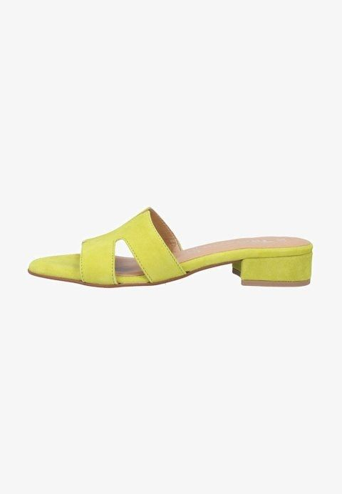 wholesale dealer 35265 46a70 Pantolette flach - green @ Zalando.de 🛒 | Sommerschuhe 2019 ...