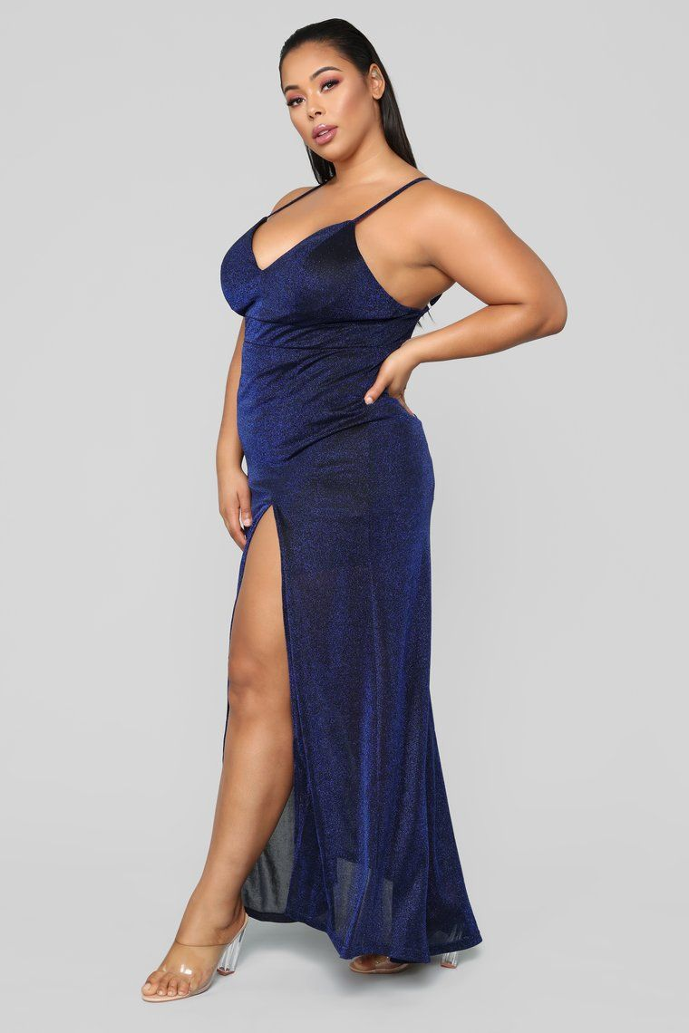 a3e776013f Champagne For Two Sparkle Dress - Navy