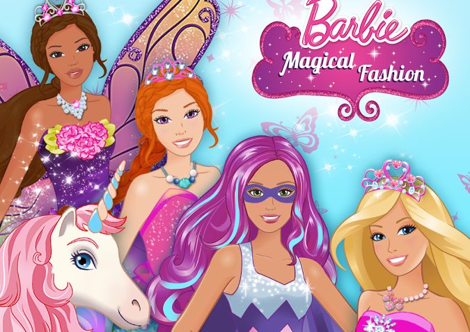 Barbie Game Fashion dress up games