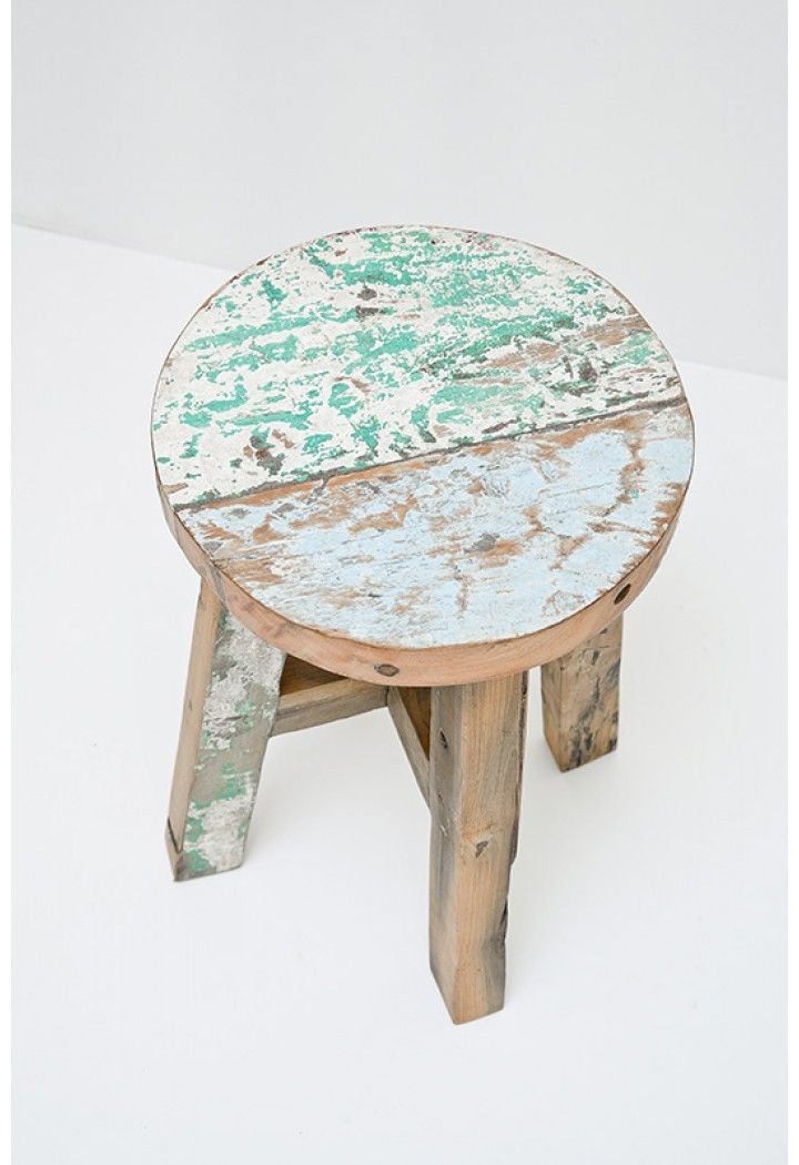 Stool Bedside Table: Stool.. Could Double As A Bedside Table!