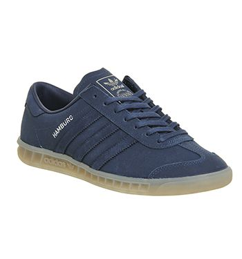 Hot Sale Trainers Adidas Hamburg Navy Gum His trainers