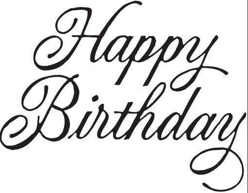 How Do You Say Happy Birthday In Cursive Celebrating Birthdays Is No Less Than An