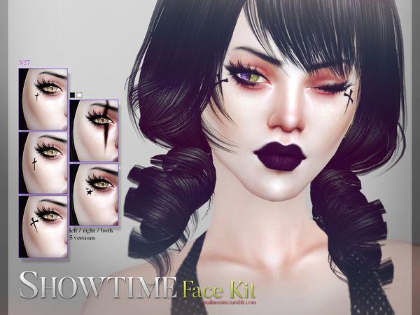 Pralinesims' Showtime Face Kit N27