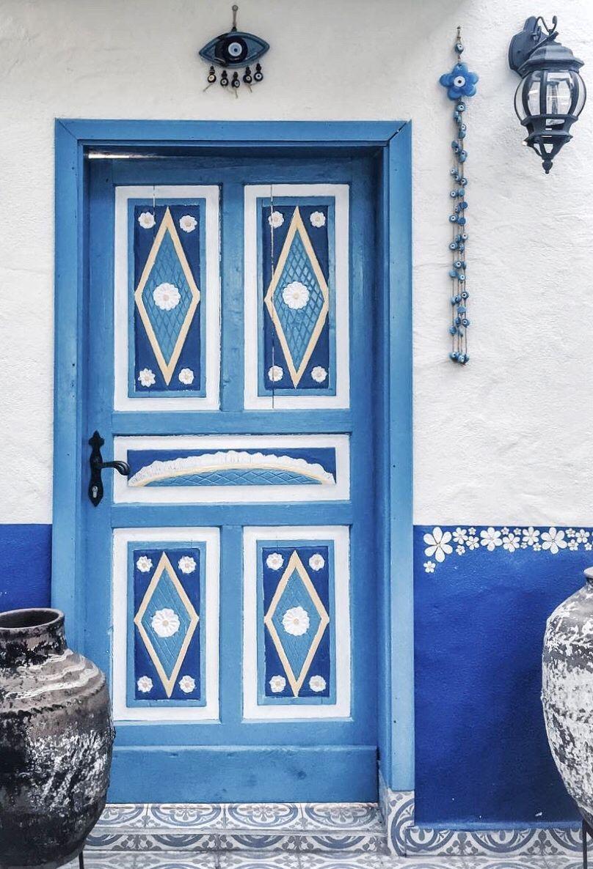 Porta Finestra Ingresso Casa selimiye, muğla, turquía. | porte finestre, finestra, casa greca