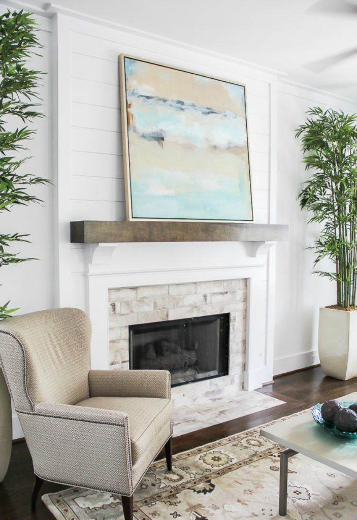 tips to diy and decorate your fireplace mantel shelf also my new rh pinterest