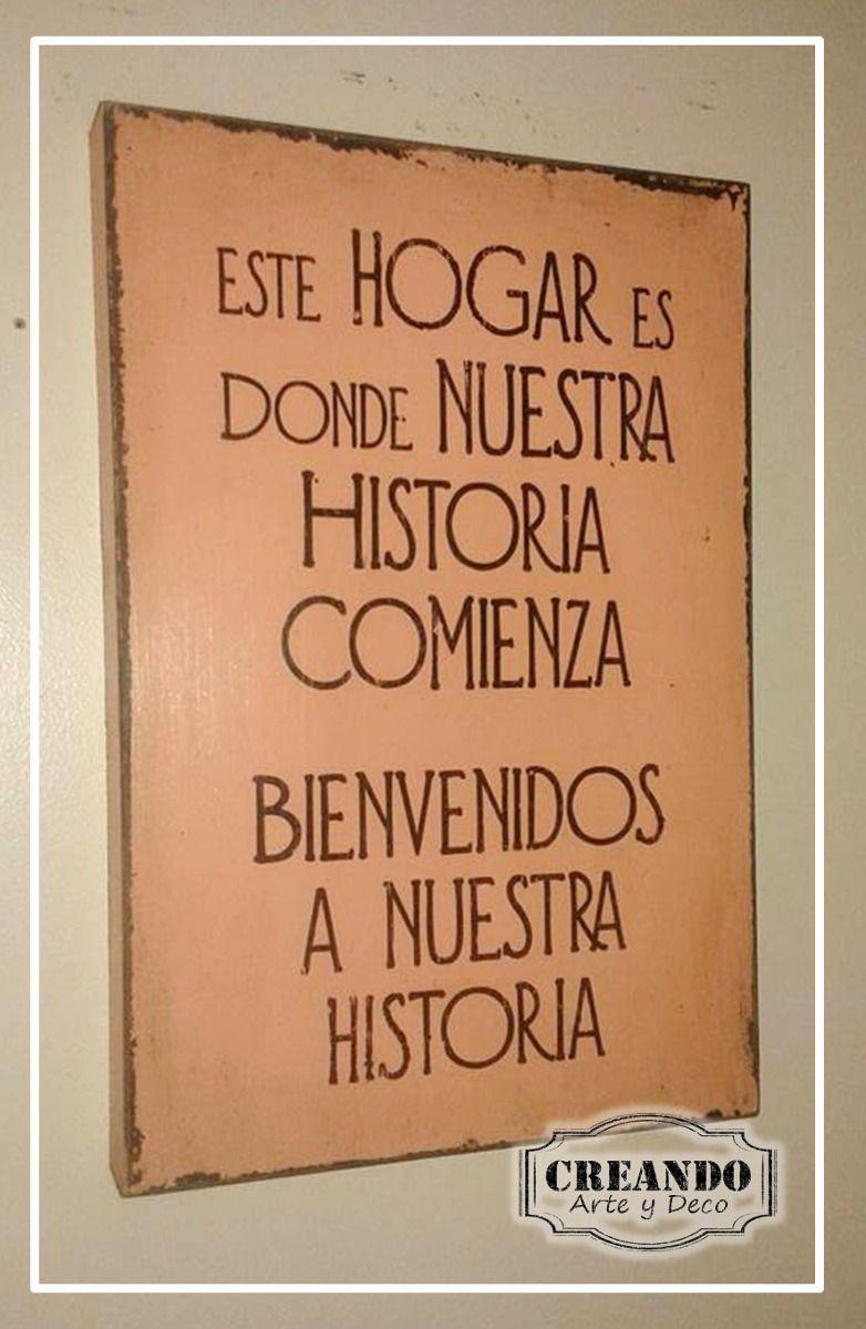 Carteles Cuadros Vintage Frases 20x30cm | Pinterest | Cuadros ...