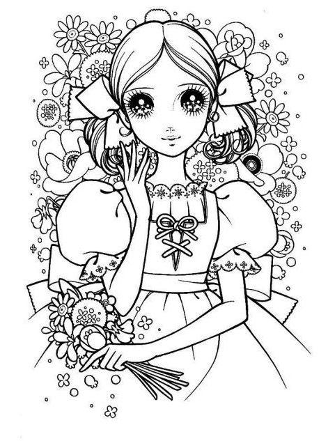 Macoto Takahashi shojou coloring page #coloringpage #coloring ...