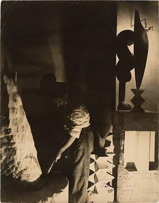 Constantin Brancusi, autoportrait dans son atelier on ArtStack #constantin-brancusi #art