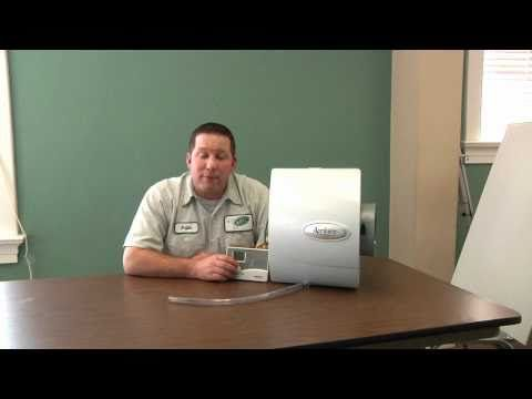 How To Change Your Aprilaire Humidifier Water Panel And Operate