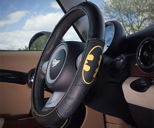 Make your car a little more super. Choose Batman, Supergirl, or Superman.