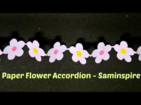 How to make a beautiful flowers garlands of paper with their hands how to make a beautiful flowers garlands of paper with their hands youtube kat isleri pinterest flower garlands simple paper crafts and paper mightylinksfo