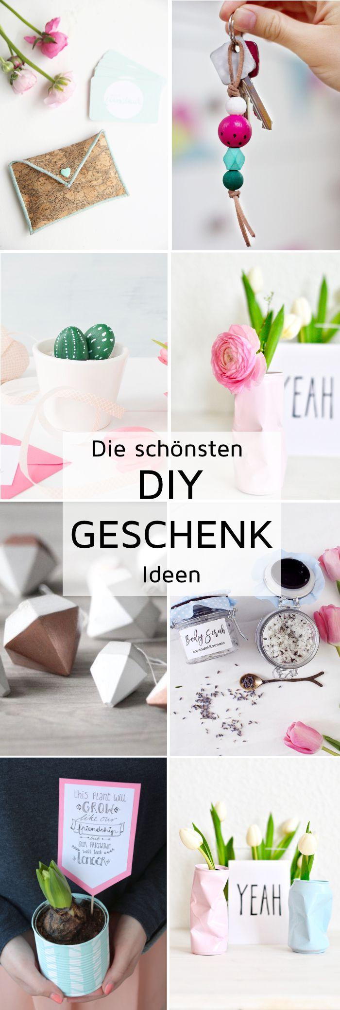 DIY Geschenke - Kreative Geschenkideen zum Selbermachen