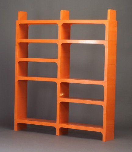 819 Olaf Von Bohr For Kartell Modular Shelf Lot 819 Modular Shelving Shelves Plastic Shelving Units