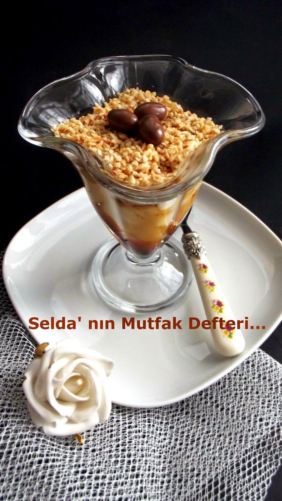 Karamelli Fındık Muhallebisi Tarifi