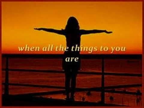 All The Things You Are - Frank Sinatra | http://pintubest.com