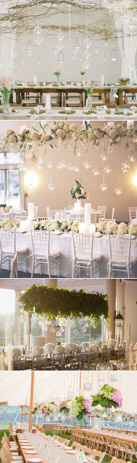 Beauty from Above – 27  Romantic Hanging Centerpiece Ideas - Glass and Jars!