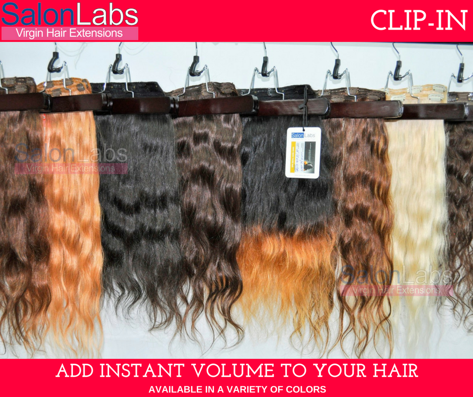 Salonlabs Clip On Hair Extensions Are The Perfect Choice For Those
