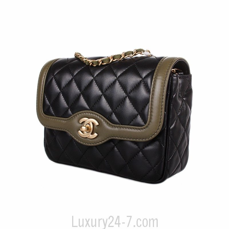4f7465698b8a Chanel Two-Tone Mini Day Flap Bag