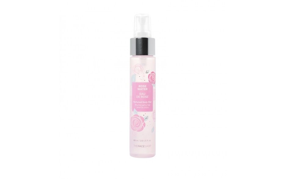 Rose Water Perfumed Body Mist - Mists & Fragrances - Body Care