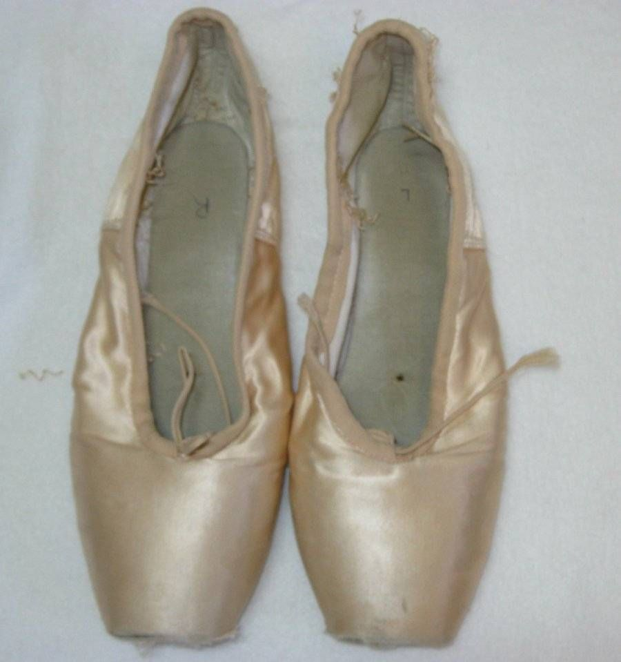 Extremely Dead/Worn Out Pointe Shoes Russian Grishko 2007 #Grishko