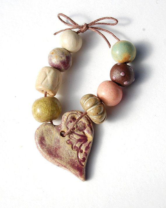 Love the colors and fun beads.
