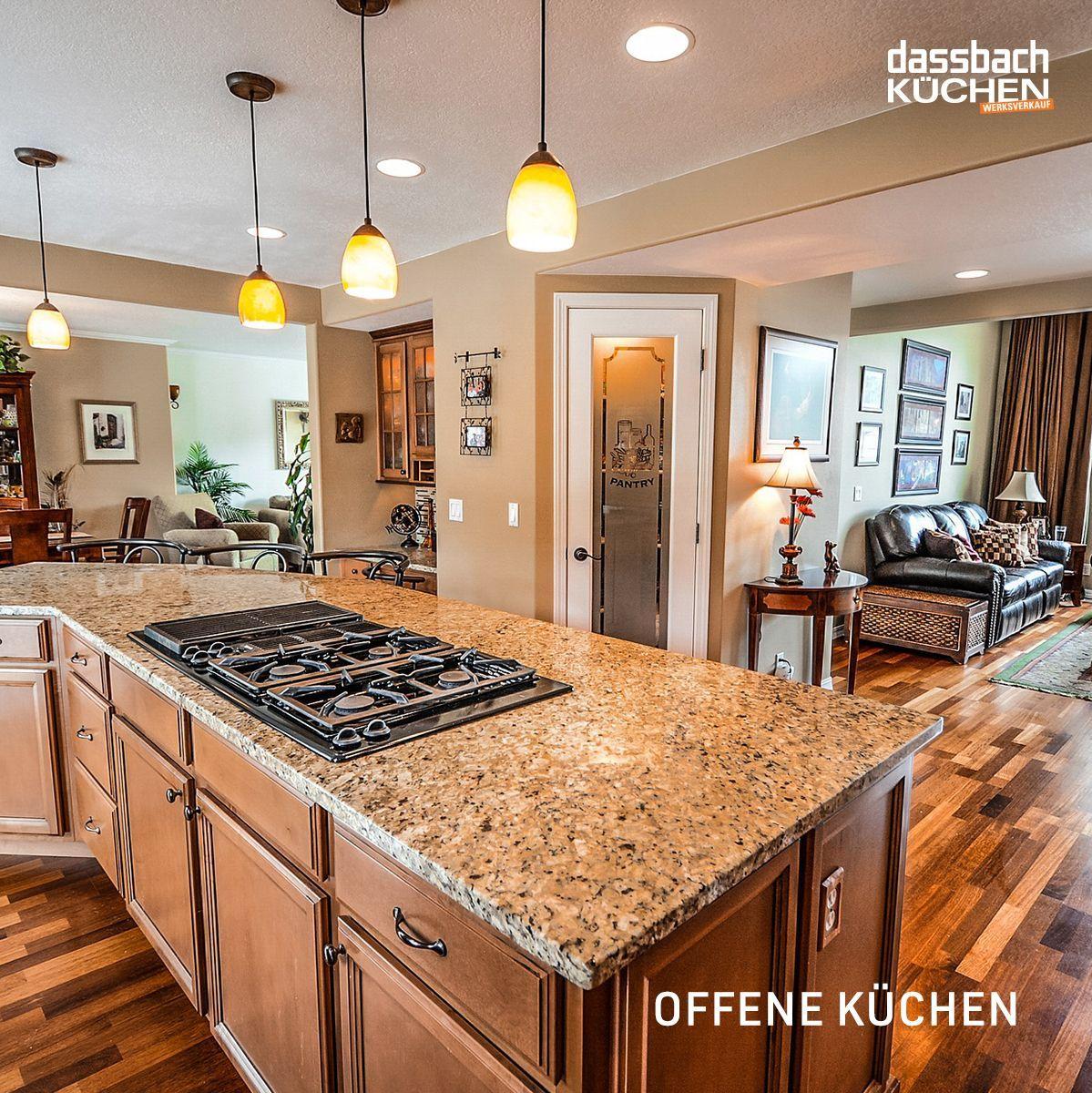 Viele Haushalte haben bereits eine offene Küche. Bis zu 90
