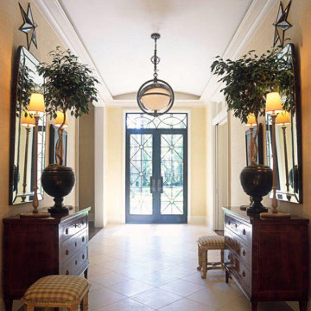 J Randall Powers Interior Design: Foyer Decorating, House Design