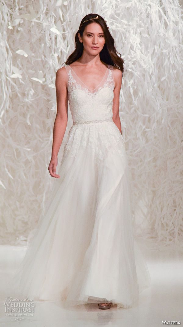 new york bridal fashion week october 2015 part 5 — watters, privato