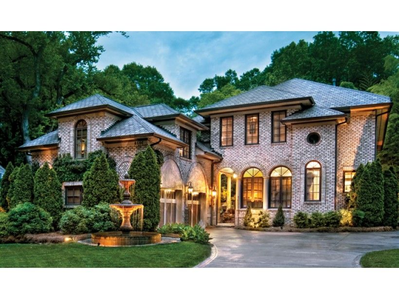 Mediterranean Style House Plan 3 Beds 2 5 Baths 2909 Sq Ft Plan 930 70 Mediterranean Style House Plans Mansions House Plans