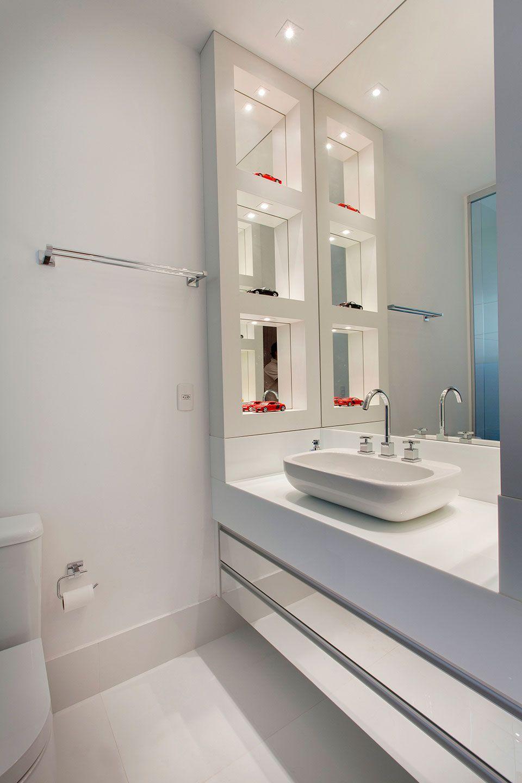 Gostei Do Espelho Banheiro Banheiros Planejados Armario