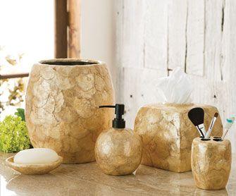 Capiz Shell Bathroom Collection