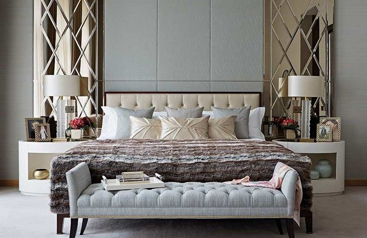 Luxury Master Bedrooms Tips How To Style A Bedside Table - Luxury master bedrooms celebrity bedroom pictures
