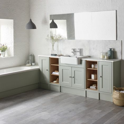 Burford Pebble Grey Fitted Bathroom Furniture Fitted Bathroom Furniture Fitted Bathroom Freestanding Bathroom Furniture