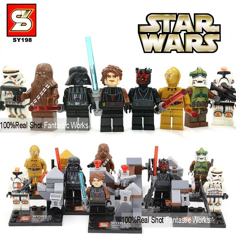 lego Star Wars building block toy authentic mini-figures