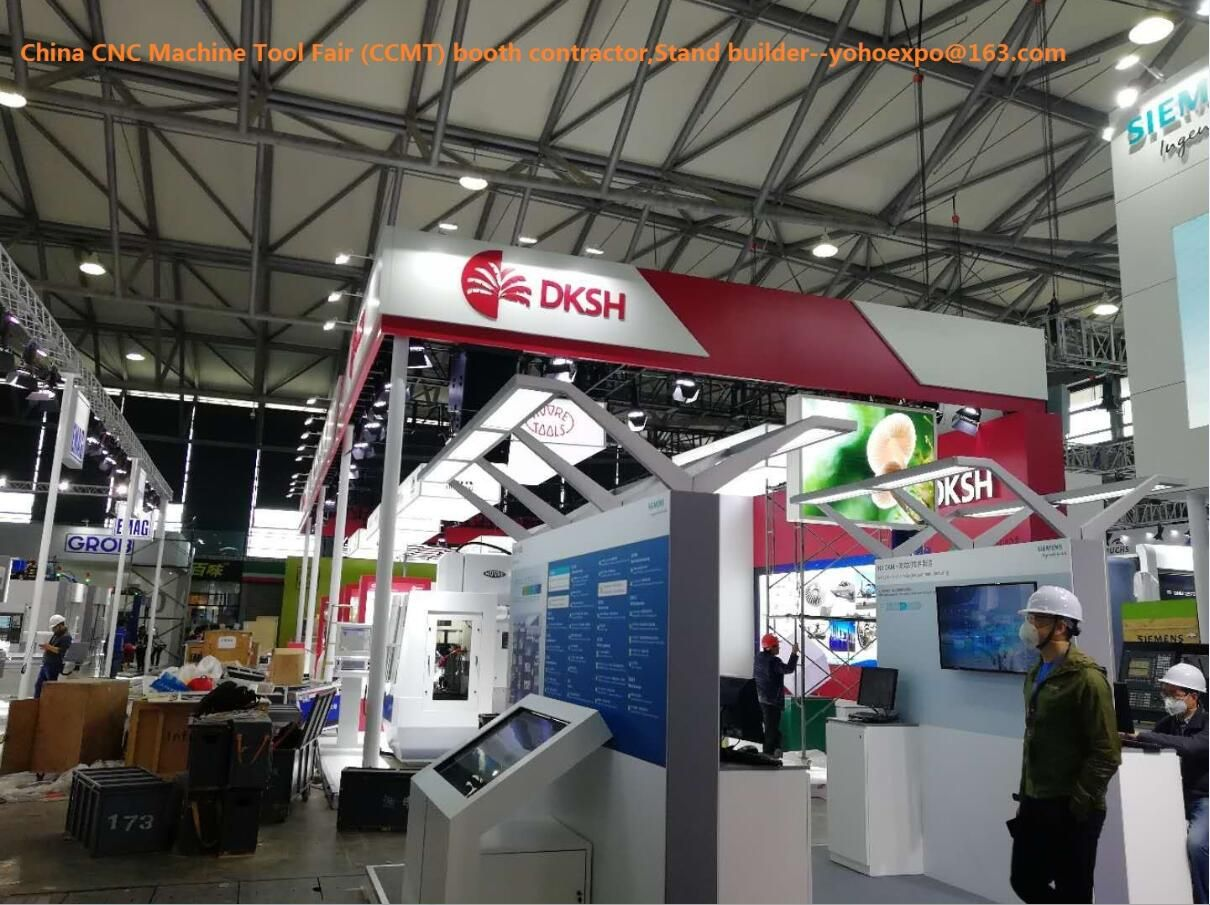 Exhibition Booth Contractor : China cnc machine tool fair ccmt exhibition booth contractor stand