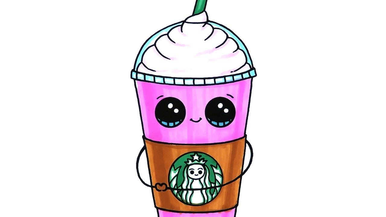 Cute Starbucks Coloring Pages Free Cute Drawings Cool Coloring Pages Cute Coloring Pages
