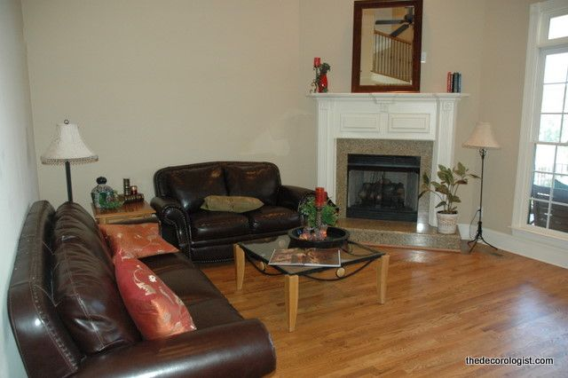 How To Arrange Furniture In A Room With A Corner Fireplace