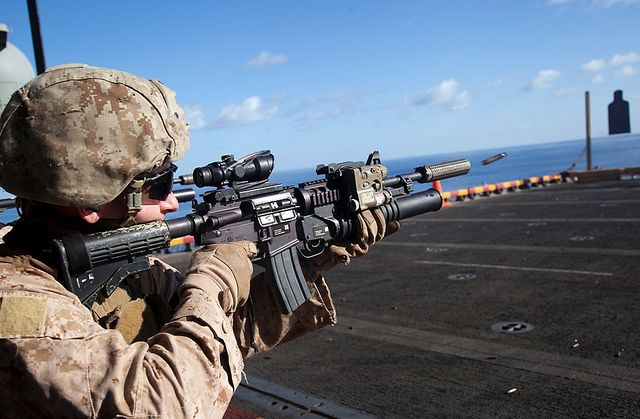 Image result for Marine Commandant Calls For Replacing M4 With This Rifle Among Marine Infantry. Here's Why