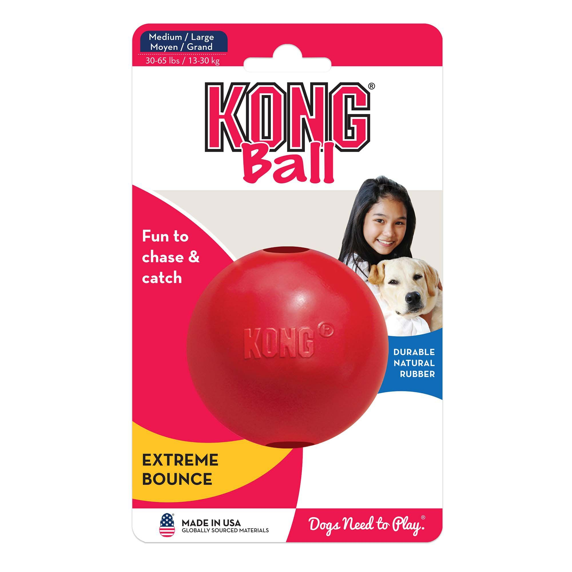 Kong Ball Dog Toy Large Medium Large Red Best Dog Toys Dog