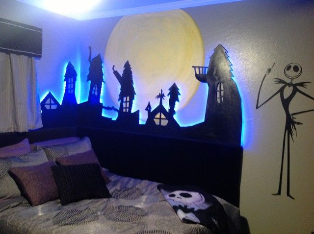 nightmare before christmas room decor