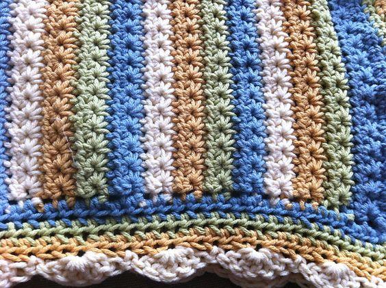 Ravelry: Star Stitch Baby Blanket pattern by Alison Meadley