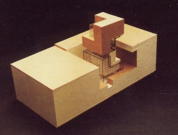 Eisenman House Xi Model Architectural Models