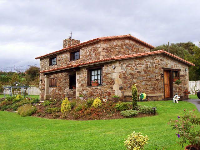Construcciones r sticas gallegas casas con porche for Construcciones rusticas