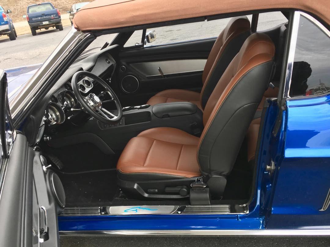1967 Mustang Saddle Interior