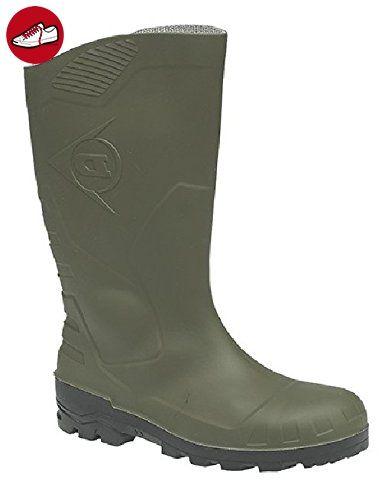 DunlopHerren Acifort Heavy Duty Full Safety Gummistiefel (41 EU/7 UK) (Grün) TtdtFhhC