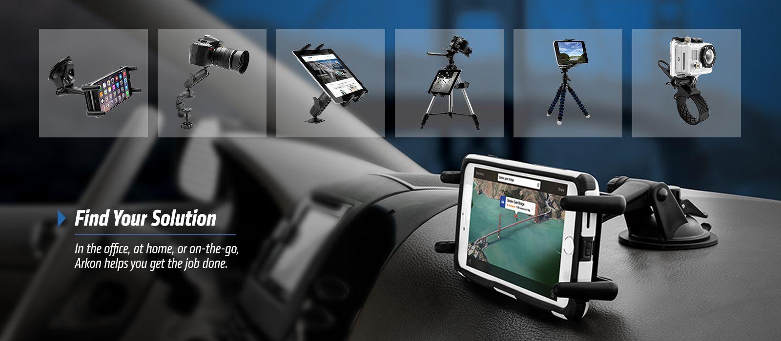 Arkon Phone Mount Tablet Holder Camera Mount (With images