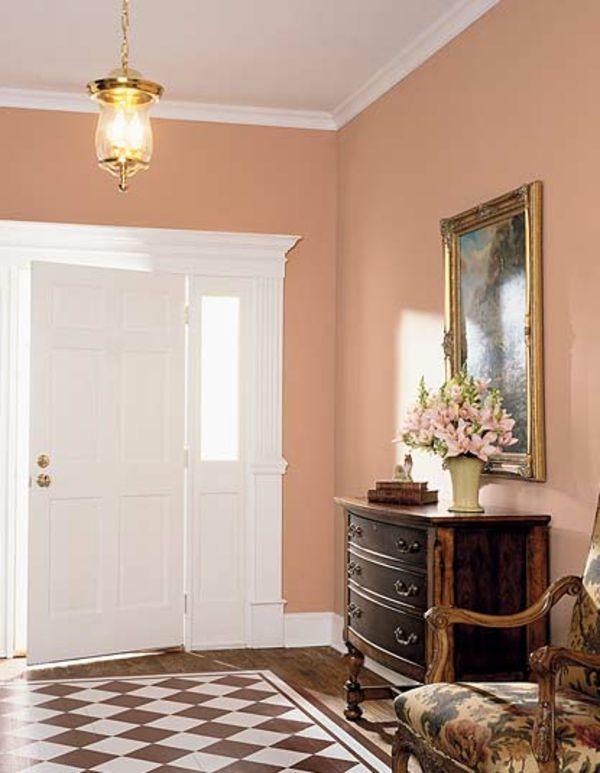 Wandfarbe Apricot Warm Und Gemutlich Archzine Net Decor